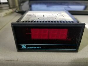 New Newport Q9000f Voltage Digital Panel Meter 0 750 Vav