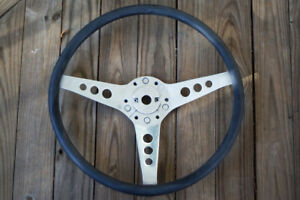 Les Leston Nos Rubber Rimmed Steering Wheels Price Lowered