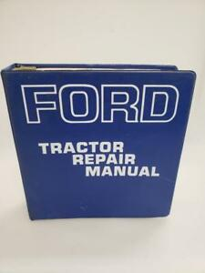 Ford 2000 3000 4000 And 5000 Series Tractor Repair Manual