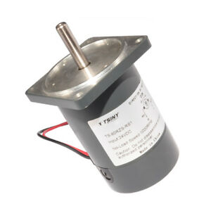 Dc12v 24v 2000 5000rpm Brushed Dc Motor Low Noise With Square Flange 60rzs rs1