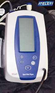 Welch Allyn 420 Spot Vital Signs Monitor 42mtb e1 Masimo Spo2 Temp Nibp Pulse