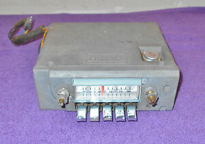 1965 1966 Ford Thunderbird Hardtop Landau Convertible Orig Am Radio Works Great