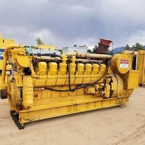 1400 Kw Cat Caterpillar 3516 480v 1800 Rpm Diesel Generator Set S n 25z00475