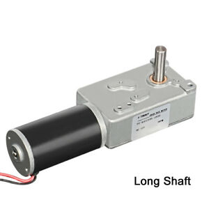 Dc12v 24v Worm Gear Motor 3 6rpm Low Speed With Self lock For Diy Robot 42gz495