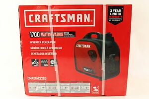 Craftsman 2200i Watt Gas Inverter Generator 1700 Running Watts Bnibs