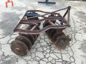 Ford 24 Disc 3 Point Hitch Adjustable Disc Harrow