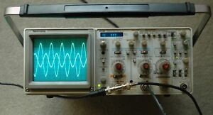Tektronix 2236 100mhz Oscilloscope W counter timer dmm Calibrated Two Probes