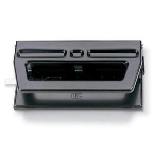 Officemate Adjustable 2 3 Hole Punch 30 Sheet Capacity Black 90098