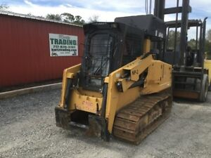2009 Rayco C100 Crawler Mulcher Skid Steer Loader Needs Work