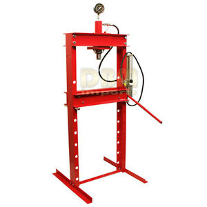 20 Ton Air Hydraulic Floor Shop Press H Type Free Shipping