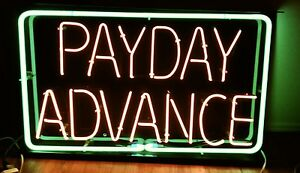 None Beer Sign nice Neon Payday Advance Sign For Your Business Have Six More