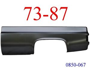 73 87 Chevy Truck 8 Left Bed Side No Fuel Hole Gmc 0850 067