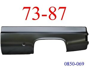 No Shipping 73 87 Chevy Truck 8 Left Bed Side Round Fuel Hole Gmc 0850 069