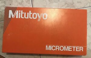 Mitutoyo 368 911 Holtest Inside Micrometer Bore Gauge Set Metric 6mm 12mm New