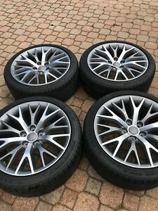 Audi Vw 18 Wheels Rims And Goodyear Eagle Sport Tires 225 40 R18 M S 8e0071495