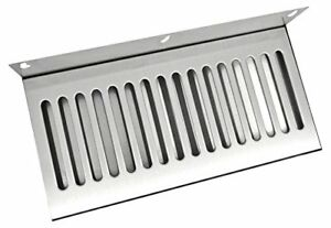 Bev Rite Wall Mount Beer Drip Tray Stainless Steel 14 X 6