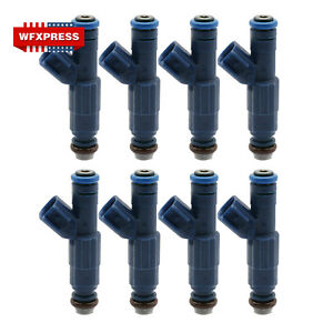 8x Fuel Injectors For 03 04 Ford Racing Performance Mustang Cobra 0280156127