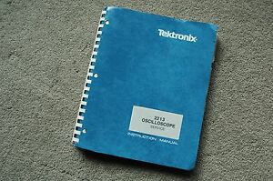 Tektronix 2213 Original Service Manual With All Schematic 070 3827 00