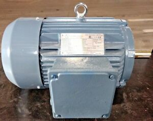 High Efficiency Electric Motor 10 Hp 1750 Rpm 208 230 460 Volts 3 Phase Wannan