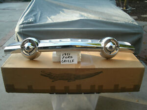 1951 Ford Grille Rechromed Triple Plated Nice