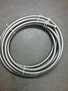H24316 Weatherhead Hydraulic Hose 1 x50 l Teflon Tube W stainless Steel Braid