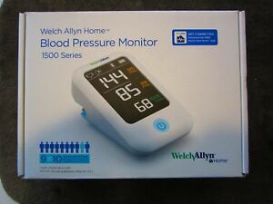 new Welch Allyn Home Blood Pressure Monitor 1500