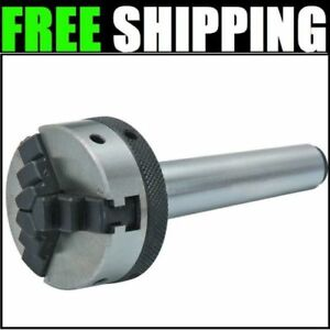2 In Mt1 Shank Mini Lathe Drill Chuck Metal Cutting Garage Auto Shop Home New