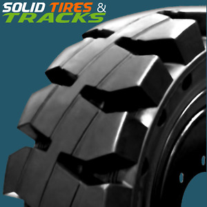10 16 5 30x10 16 12 16 5 33x12 18 Solid Skid Steer Tires Rims severe Duty