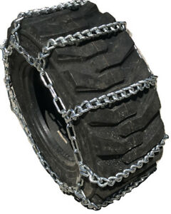 Snow Chains 14 17 5 14 17 5 Ladder Tractor Tire Chains Set Of 2