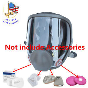 Large Size Dust Gas Mask For 6800 Full Face Facepiece Respirator Painting Us