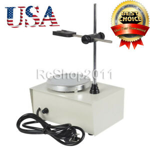 150w 110v 1000ml Magnetic Stirrer Mixer Machine W Heating Hot Plate Laboratory