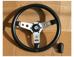 Vintage Personal Nardi Competition Datsun Steering Wheel Roadster 240z 280z 510
