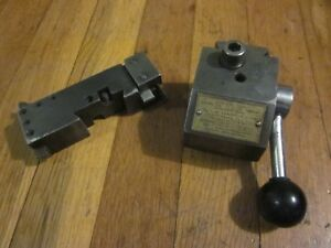 Kdk Series 0 Quick Change Tool Post Holder Rare Los Angeles Machinist Aloris