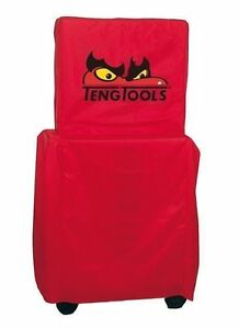 Teng Tools Top Box Roller Cab Stack System Full Toolbox Cover Red