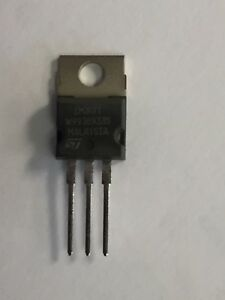 50 Pcs Lm317t Voltage Regulator By St Micro Ic 1 2v To 37v 1 5a To 220