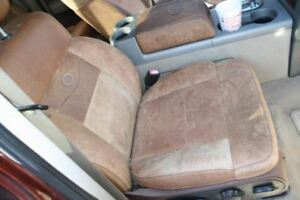 2004 2008 Ford F150 King Ranch Right Front Passenger Seat Brown Leather Crew