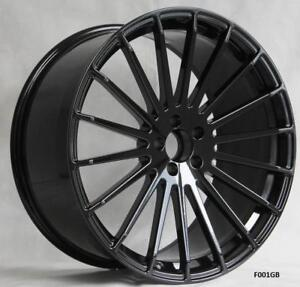 22 Forged Wheels For Mercedes S class S550 S600 S63 S65 staggered 22x9 10 5