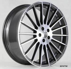 22 Wheels For Mercedes S Class S550 S600 S63 S65 Staggered 22x9 10
