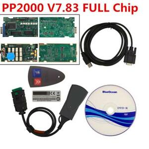 Lexia 3 Pp2000 For Citroen peugeot Diagnostic Tool With Diagbox V7 83 Full Chip
