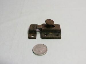 Antique Old Hoosier Cabinet Cupboard Door Spring Slide Latch Catch 5 Available