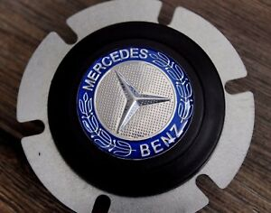Mercedes Benz Badge Horn Button Fits Momo Raid Sparco Nrg Steering Wheel