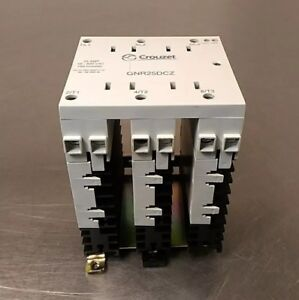 Crouzet Gnr25dcz Solid State Relay 48 600vac 25 Amp 4e