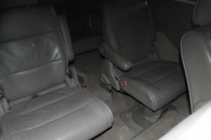 2004 Nissan Quest 2nd Row Rear Back Captain Chair Bucket Seats Gray Leather