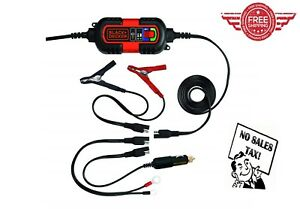 Battery Charger Motorcycle Car Automatic Maintainer Float Trickle Tender 12v 6v