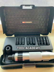 Facom Tools Impact Driver With Impact Bit Set With Ns 260a Driver Case
