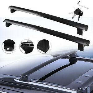 Pair Top Roof Rack Cross Bar Cargo Luggage Kit For 2011 2018 Jeep Grand Cherokee