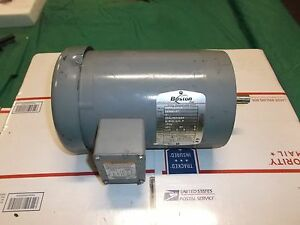 Boston 1 Hp 208 230 460 Vac 1725 Rpm 56c 3ph Ac Electric Motor Hutf 5 8 b Sale 1