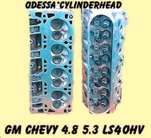 New Gm Chevy 4 8 5 3 Ohv Ls4 Silverado Tahoe Cylinder Heads Cast 706 862 99 05