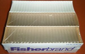 750 Fisherbrand Borosilicate Glass Culture Tubes 14 961 26 Test 12 X 75 Mm
