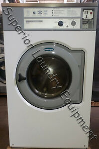Wascomat W655 Washer extractor 55lb Coin White 220v 3ph Reconditioned